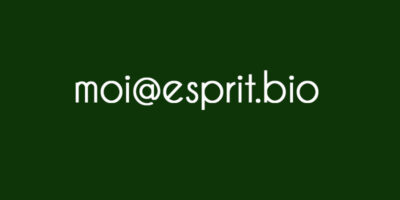 Adresse mail vous@esprit.bio