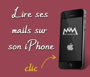 Lire ses emails sur son iPhone
