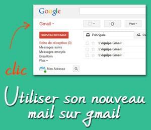 Rediriger ses mails de gmail, et écrire de gmail