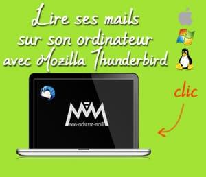 Lire ses mails sur Mozilla Thunderbird