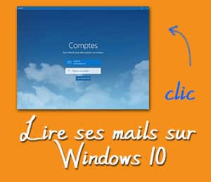 boite mail windows 10