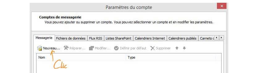Configurer sa boîte mail sur Outlook