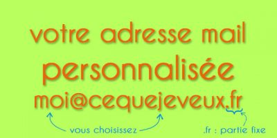 adresse email personnalisée