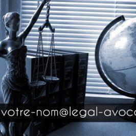 Créer une adresse mail confidentielle pour avocat