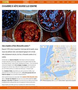 site web chambre d'hotes wordpress