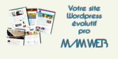Site WordPress évolutif sur devis : acompte