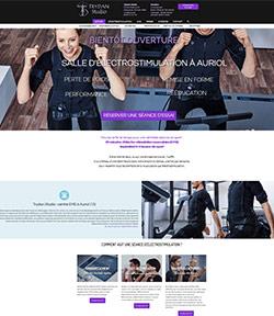 creer un site web salle de sport