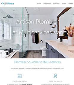 site internet pour un plombier