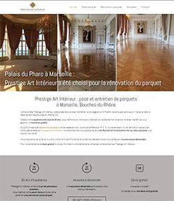 site web artisan parquet